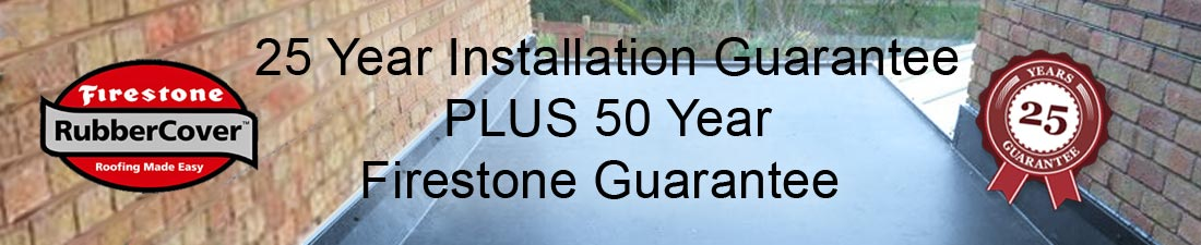 rubber roofing 50 year guarantee